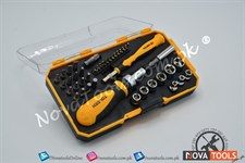TOLSEN Bit & Socket Set 42ps
